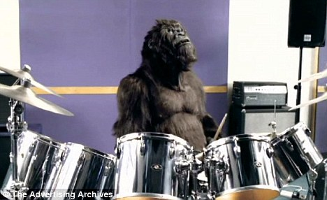 CadburyGorillaDrums